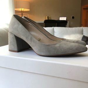 Zara grey heel shoes